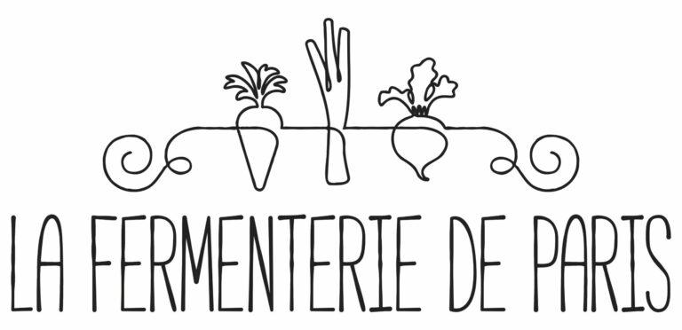 Logo de la fermenterie de Paris, les légumes fermentés Bio cultivés et fermentés en Île-de-France